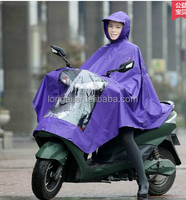plus size outdoor rain poncho for bike and motocycle wholesale