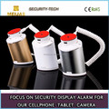 Mobile phone security alarm device retail anti-theft display stand for iphone and mobile phone