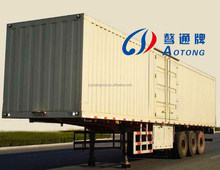 China Enclosed Van/Cargo Trailer (Semi Closed, Open Style Optional)