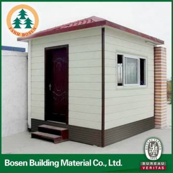 China fast install mini prefab modular homes