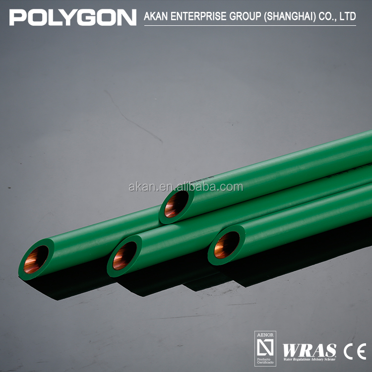 Alibaba China Polygon Copper Durable Drinking Water System Flexible Ppr Pipe