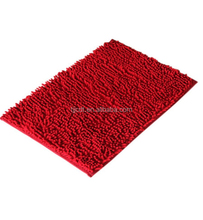 polyester microfiber chenille commercial decorative carpet tile