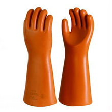 high voltage rubber latex insulating gloves
