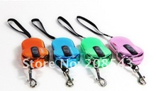 Free Shipping! High quality new collection of 3 Meters Flexible retractable Extending Dog Pet Lead Leash