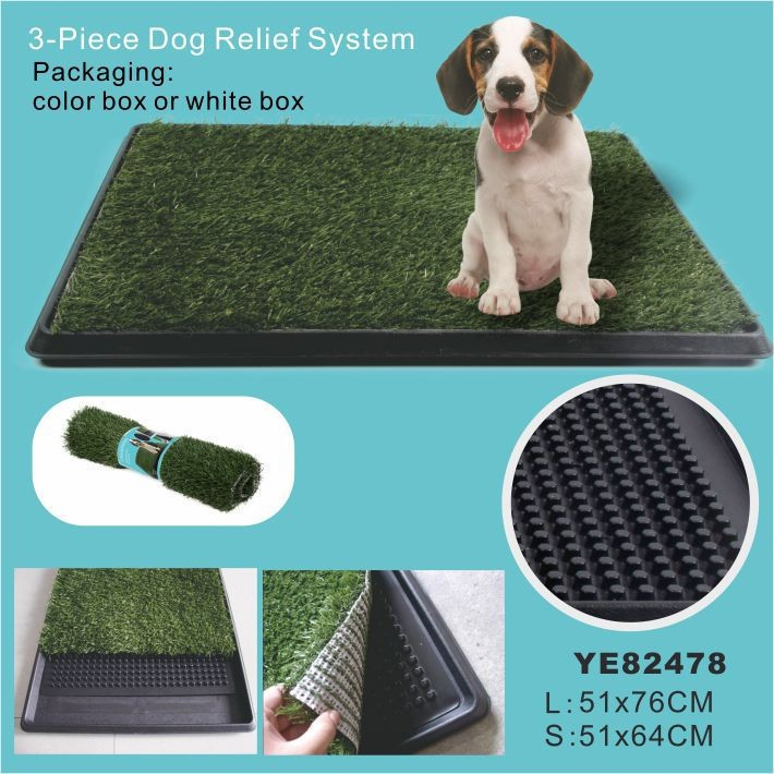 Artifical Grass Dog Pet Toilet Tray