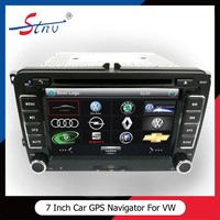 Universal Android Car Media Player With GPS Navigation For Volkswagen