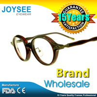 High Fashion Joysee Designer Brand Newest Round Frames Fancy Modern Acetate Spectacles Optical Glasses Wih Factory Price