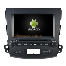 Android 4.4.4 In dash Car Radio For MISUBISHI OUTLANDER(2006-2012)/PEUGEOT 4007
