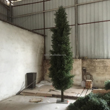 Explosion models fake pine tree artificial pine branches podocrpus cedar artificial pine tree