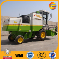 combine harvester type chickpea harvester wheat soybean harvesting
