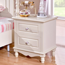 Space Saving Home Furniture French Classic Bedroom Bedside Table With Storage