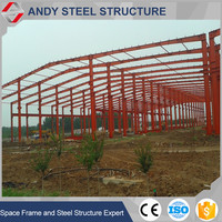 Alibaba Pre Engineering Large Span Steel Structure Storage Building Made in China
