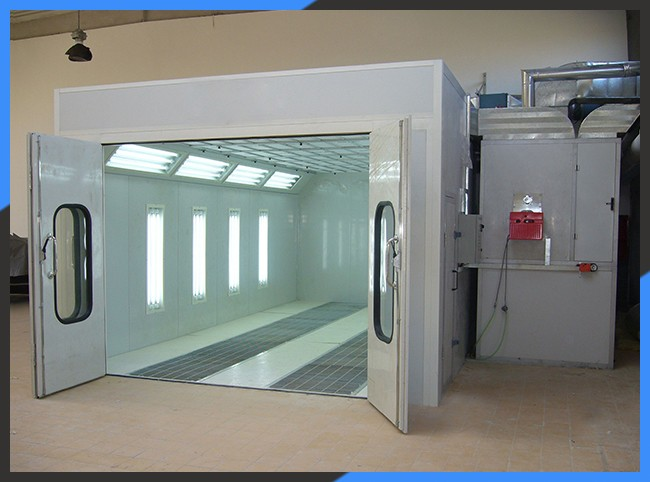 KX-SP3200D Auto Water Based Car Body Care Paint Spray Booth