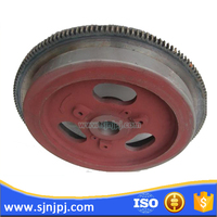 Diesel engine flywheel assy with flywheel ring gear