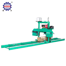 Horizontal Automatic Band Saw Wood Cutting Out Machine