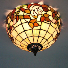 S15012C of Antique tiffany ceiling lamp factory manufacturer for wholesale
