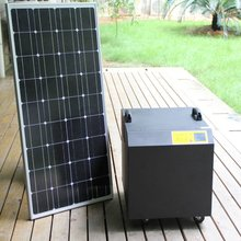 1.5KW home solar energy system for refrigerate,TV, fan and LED lighting