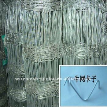 Galvanized PVC coated field fence