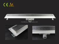 rectangle stainless steel cover high flow bathroom shower drain tile