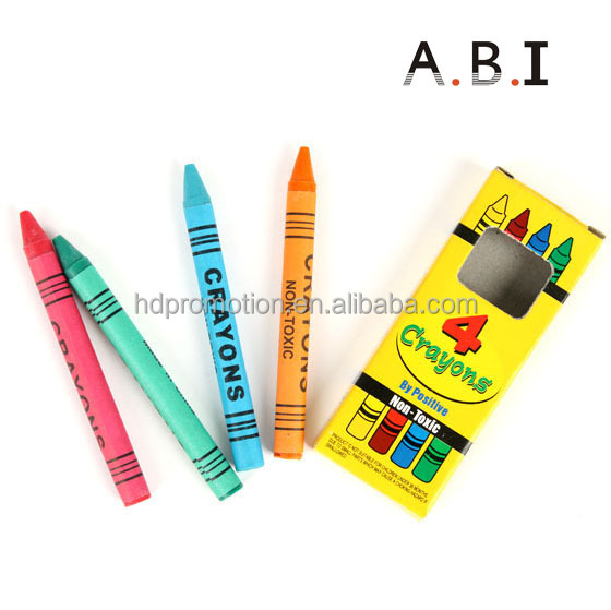 Wax Caryon Type and Set Packaging crayons wax shaped