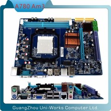 Micro-ATX AMD NEW AM3 DDR3 A780 PC motherboard