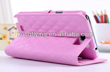 Stand function leather for samsung galaxy note N7100