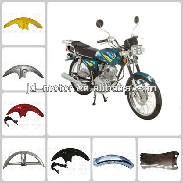 Chinese JAGUAR motorcycle chrome fender