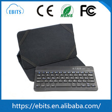Manufacturer price 9 inch leather wireless bluetooth tablet keyboard for android tablet pc