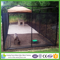 Custom large dog cage stainless steel