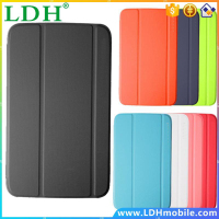 New Smart Business Leather Case Book Slim Folding Stand Cover for Samsung Galaxy Tab 3 10.1 Inch P5200 P5210 Tablet get a film