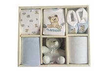 6 pcs baby gift set(boy/girl/unix)