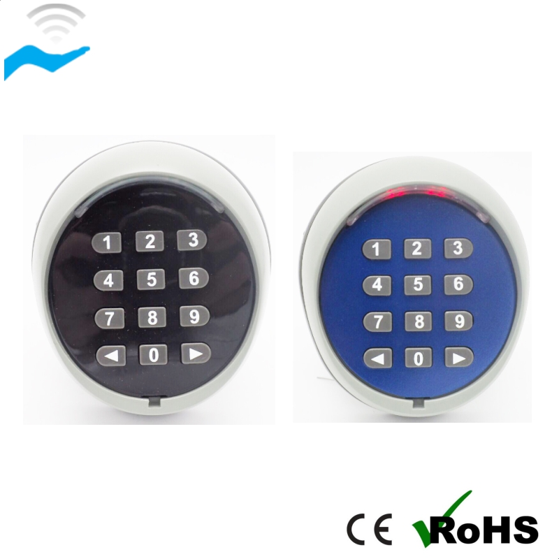 Wireless Keypad for Automatic gate operators control remote garage