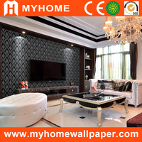 Good quality vinyl wallpaper from alibaba china walls paper supplier