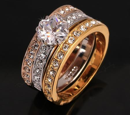 China gold ruby ring designs for men white emerald stone wedding rings