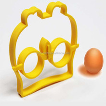 Cute Silicone Owl Egg Fried Shaped Mould Shaper Ring Kitchen Cooking Tool