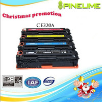 Surprise price, Christmas Promotion, compatible color toner cartridge for HP CE320A CE320 320A