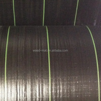 PP Plastic Woven Weed Mat Ground