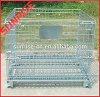 mental industrial wire mesh container