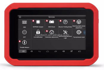XTOOL X-100 X100 PAD Car Key Programmer with Free Update Software