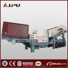 LIPU Brand New and Competitive Price for Mobile Stone Crusher