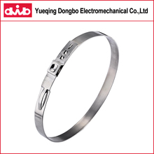 Large Diameter Stainless Steel Hose Tightening Single EarAutomotive Clamp