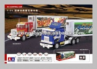 1:26 4Channel imitate true RC tractor truck