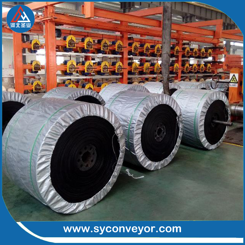 China manufacturer oil resistant endless rubber conveyor belt