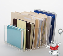 Clear Acrylic Plastic File Holder Document/File Holder for Book