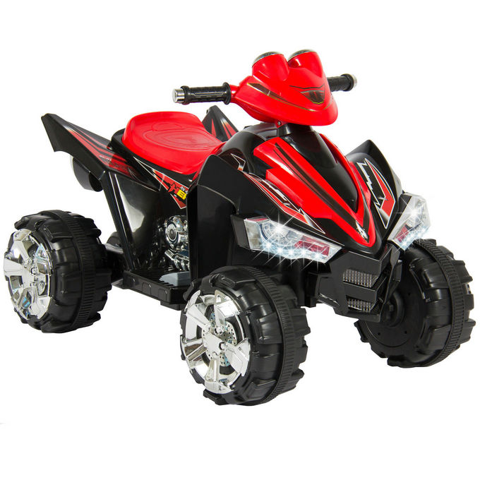 Kids Ride On ATV Quad 4 Wheeler 12V Battery Power Electric Power Led Lights and Music