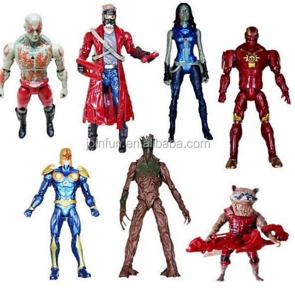 the guardian of the galaxy figure pvc plastic action figure,custom movable action figure,oem custom pvc plastic action figure