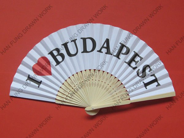 Paper Fan Patterns as Souvenir