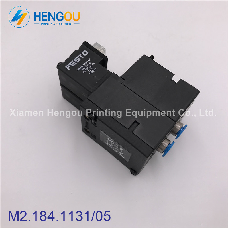 Import quality printer machine parts solenoid valve M2.184.1131/05 for SM102 CD102 machine