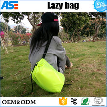 Wholesale Fast Inflatable laybag beach chair lazy bag Air Sofa Folding sofa Bed