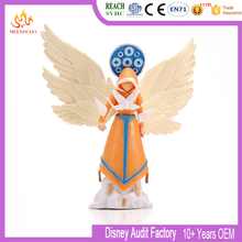 OEM PVC plastic cartoon American angel figurine toy